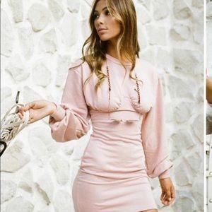 Sabo Skirt Koi Dress in Pink
